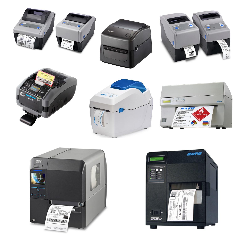 Sato Barcode Label Printers