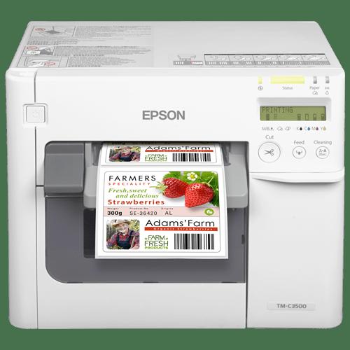 Epson ColorWorks ™ C3500 - Imprimante d'étiquettes à jet d'encre couleur