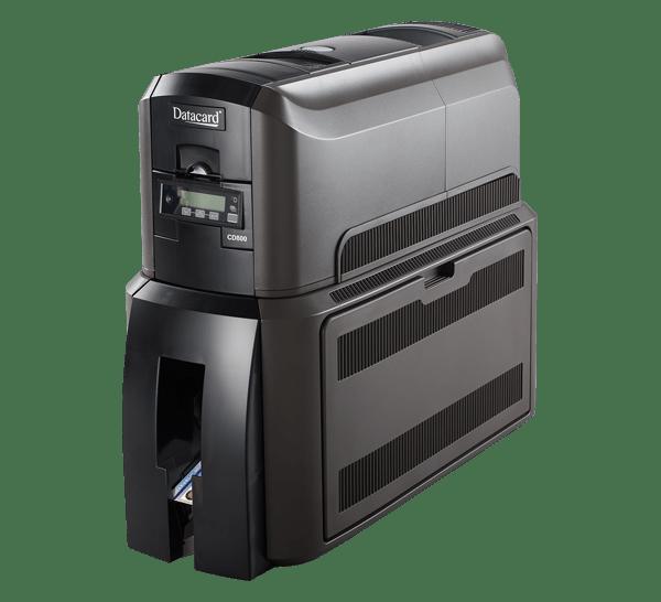 Datacard CD800 avec imprimante de cartes de plastification