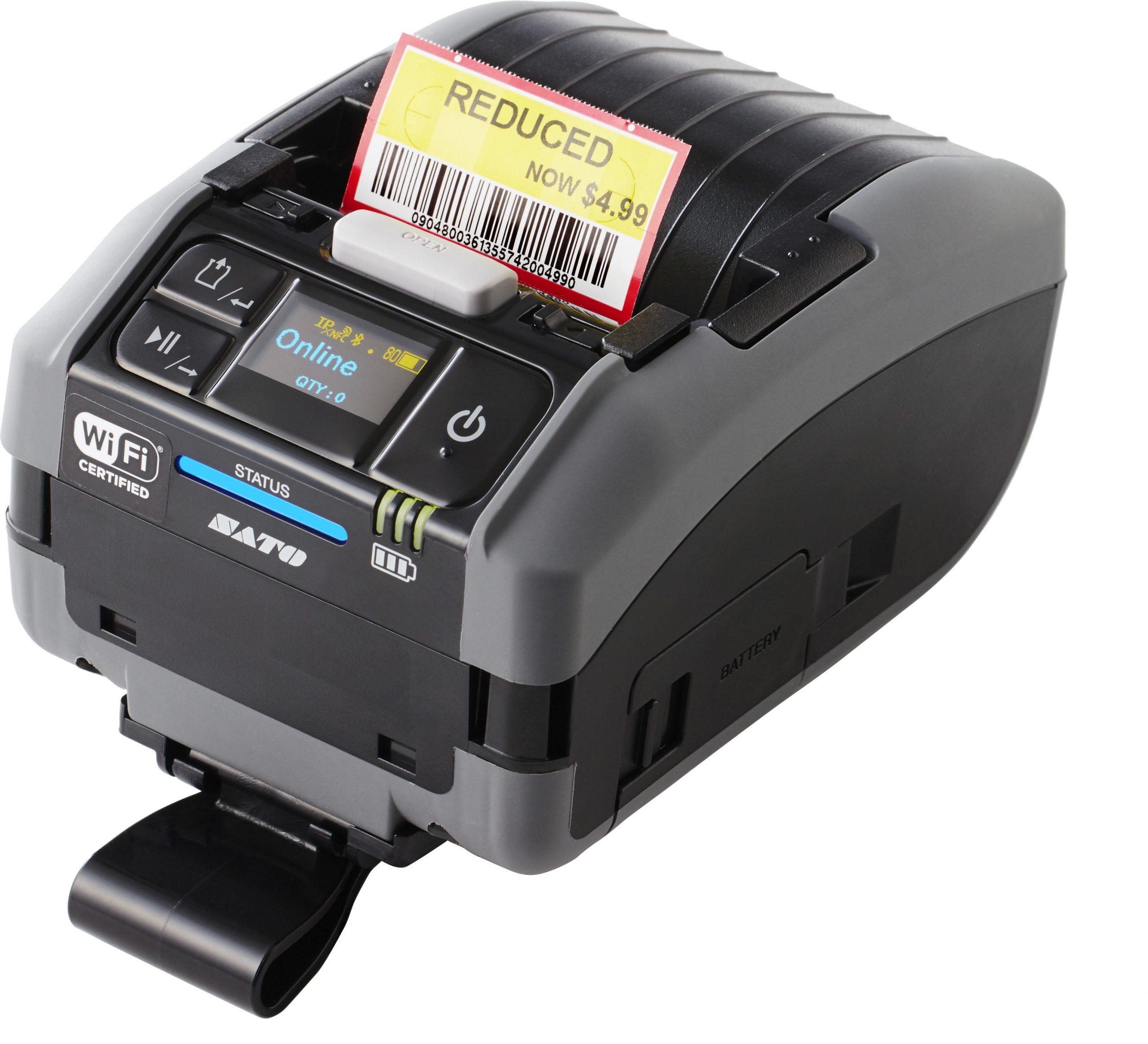 SATO PW2NX Mobile Label Printer